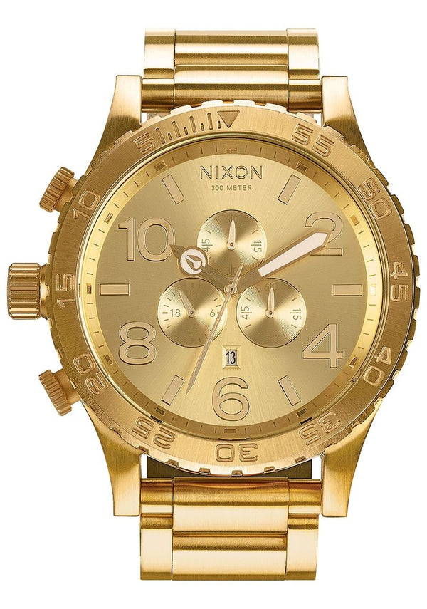 Watches - Nixon 51-30 Chrono All Gold