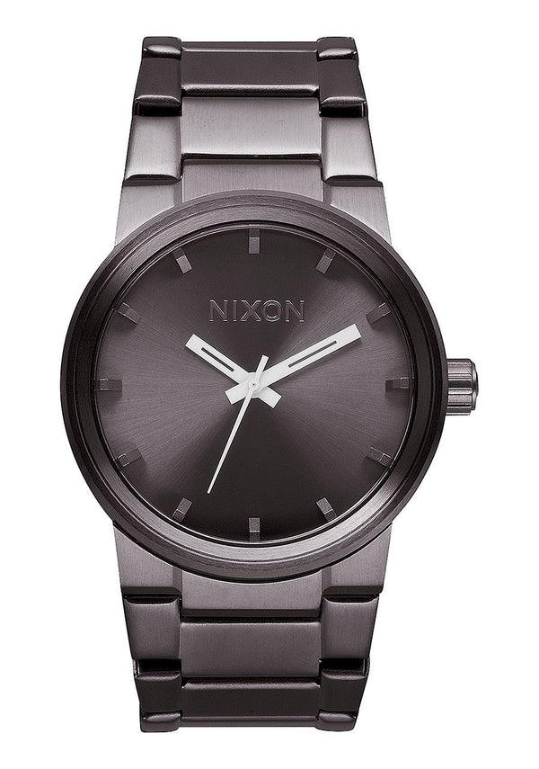 Watches - Nixon Cannon All Gunmetal Watch