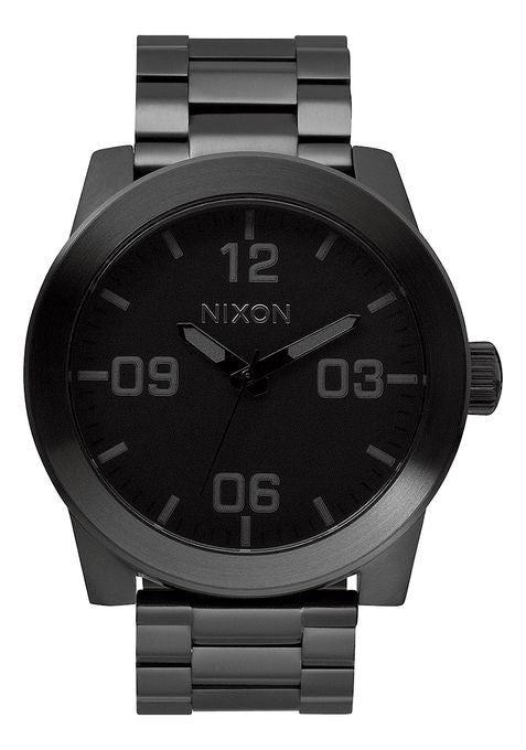 Watches - Nixon Corporal SS All Black Watch