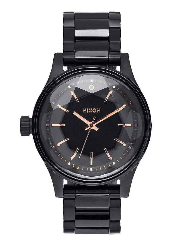 Watches - Nixon Facet 38 Black / Rose Gold
