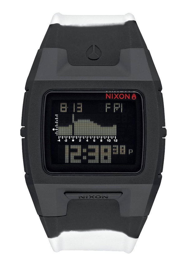 Watches - Nixon Lodown Silicone Black/White Split