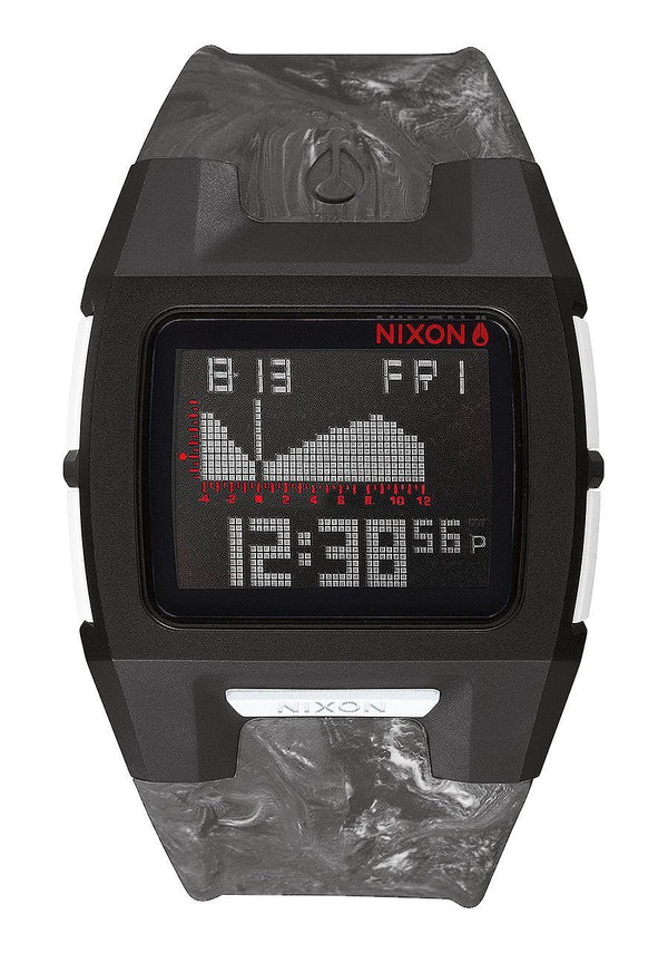Watches - Nixon Lodown Silicone Marbled Black Smoke