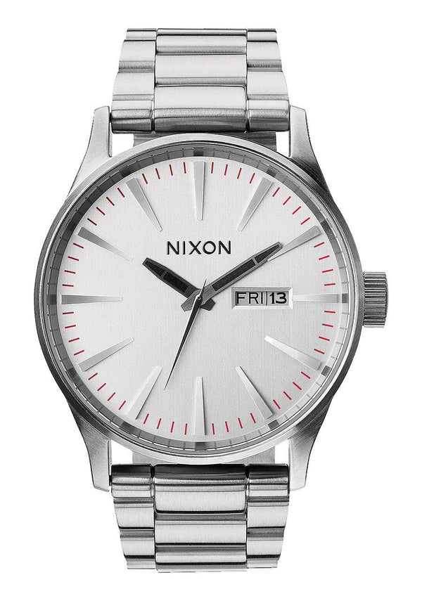 Watches - Nixon Sentry SS Silver