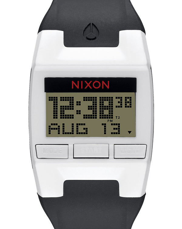 Watches - Nixon The Comp Black And White Watch