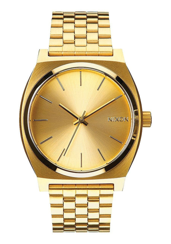 Watches - Nixon The Time Teller Gold Watch