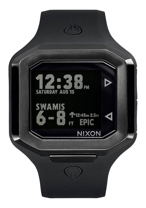 Watches - Nixon Ultratide ALL Black Watch