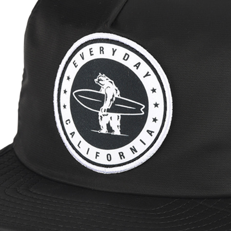 Headwear - Floating Waterproof Snapback Black