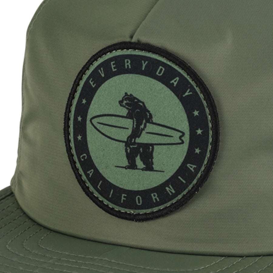 Headwear - Floating Waterproof Snapback Sage