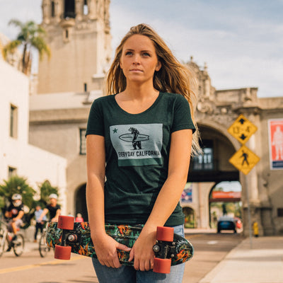 Women's Tees - La Hermosa Emerald
