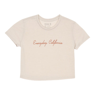 Women's Tees - Palm Canyon Crop Top