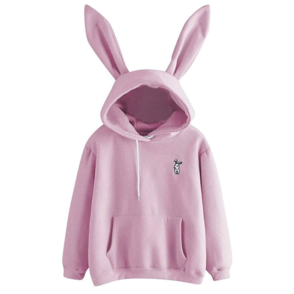 Rabbit Ears Hoodie Sweater
