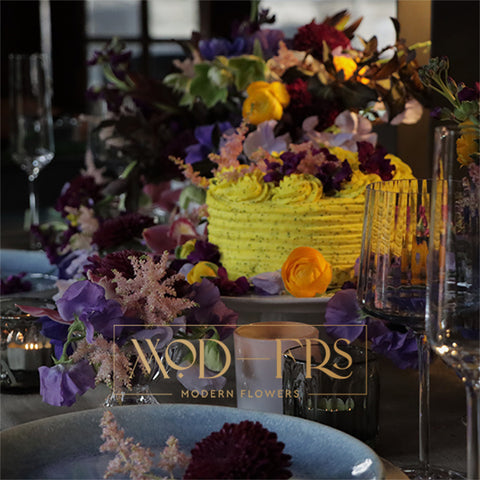 Luxury Floral Tablescape by Modern Flowers