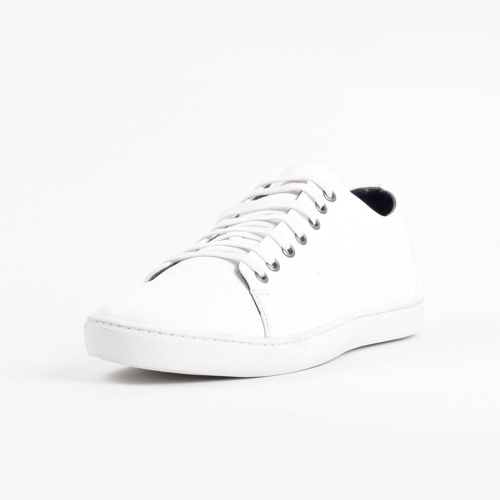 Baskets- Blanc 100% Cuir