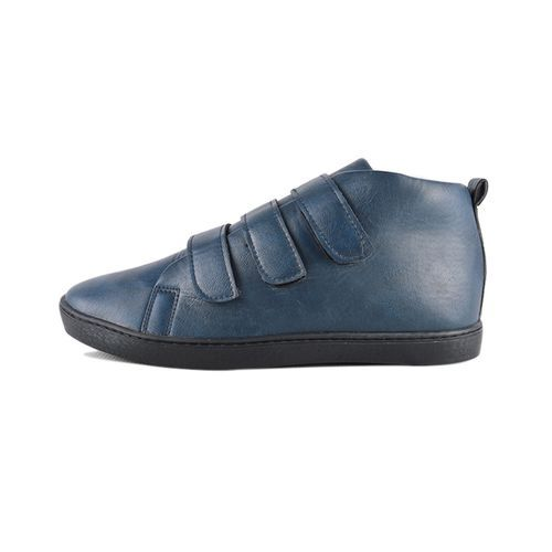 Baskets- Bleu 100 % Cuir