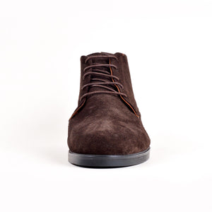 Bottines - Marron 100% Daim