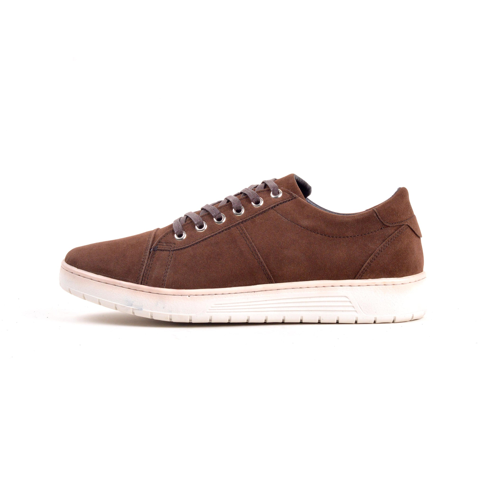 Baskets- Marron 100% Daim