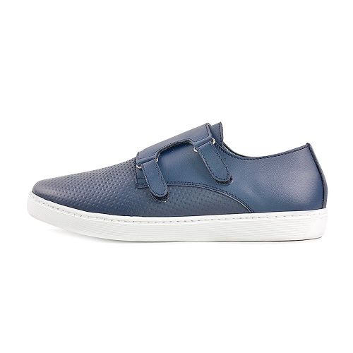 Baskets - Bleu 100 % Cuir