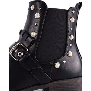 Bottines C'M Paris Noir 100% Cuir