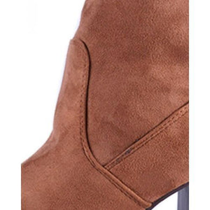 Bottines C'M Paris Camel 100% Daim