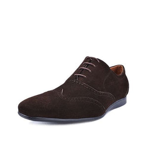 Derbies- Marron 100 % Daim