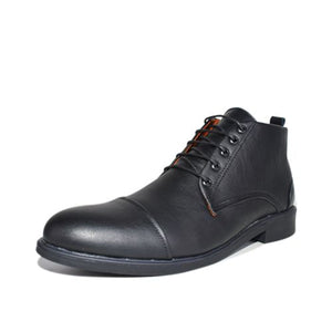 Bottines- Noir 100% Cuir