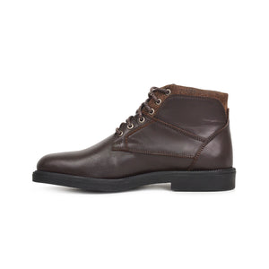 Bottines - Marron 100 % cuir