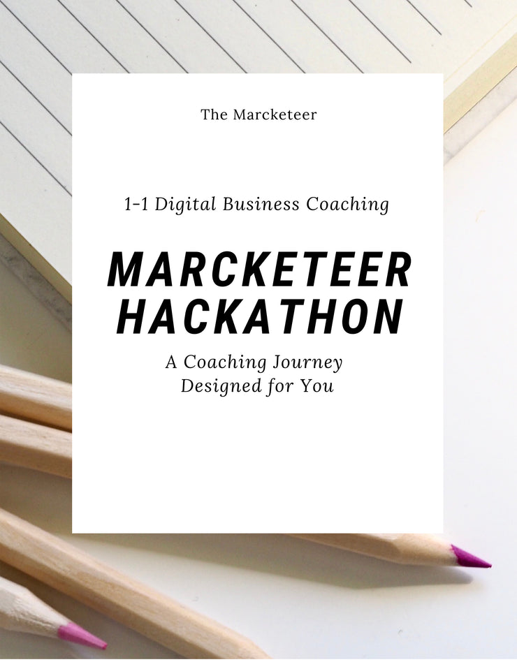 [Coaching Course] Marcketeer Hackathon: A Coaching Journey Designed For You