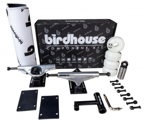 "Birdhouse Component Kit 5.25 Silver/Black (Ideal for 7.75"" - 8.25"")"