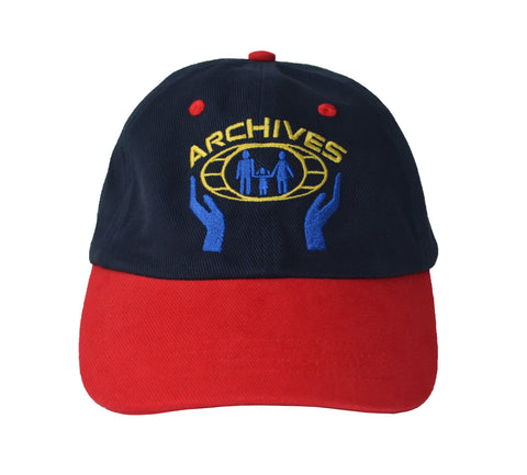 Collective Archives Dad Cap Navy/Red