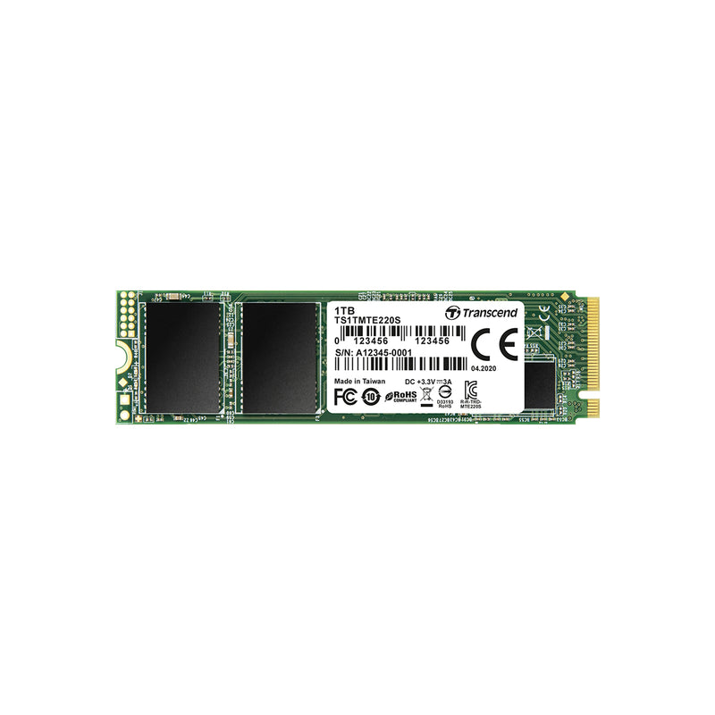 Transcend PCIe SSD 220S 固態硬碟 - Microworks Online Store