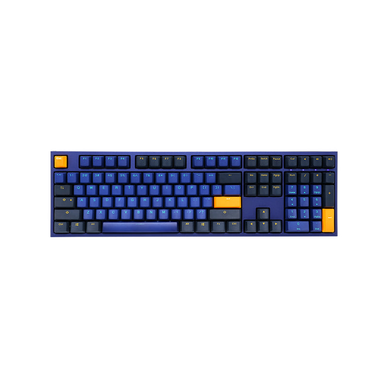 Ducky One 2 Horizon 英文鍵 混色靛藍 PBT 機械鍵盤 - Microworks Online Store