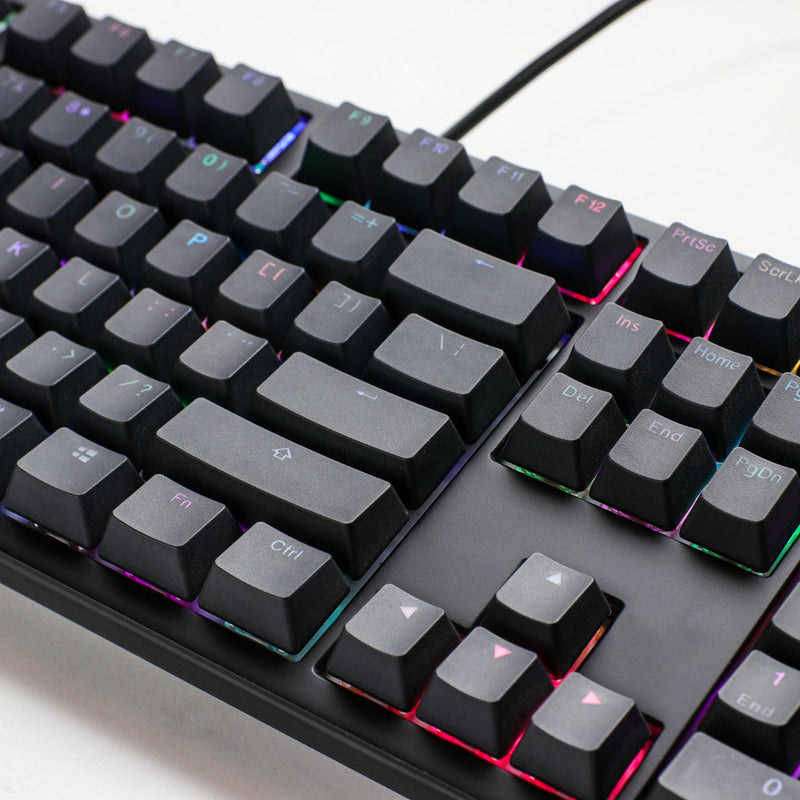Ducky Shine 7 Blackout RGB PBT 機械鍵盤 - Microworks Online Store