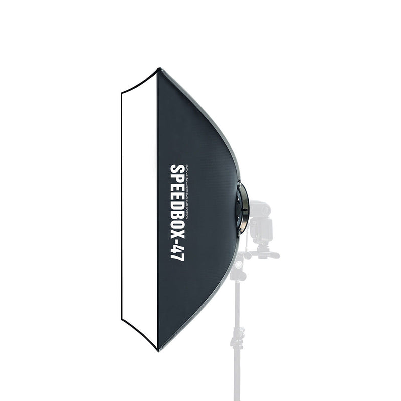 SMDV Speedbox-47 Speedlight Diffuser Box 快速摺疊式柔光罩 - Microworks Online Store
