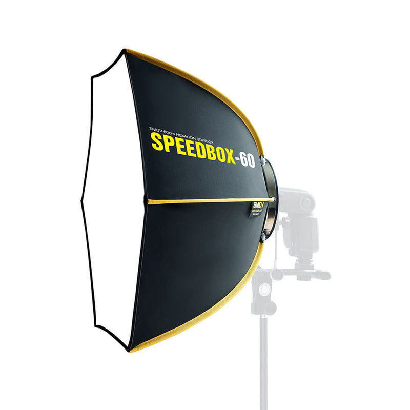 SMDV Speedbox-60 Speedlight Diffuser Box 快速摺疊式柔光罩 - Microworks Online Store