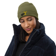 Load image into Gallery viewer, Organic ribbed beanie