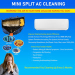 Load image into Gallery viewer, Ductless Mini Split DC Inverter AC Air Conditioner Cleaning Waterproof Cover and Washing Clean Protector Bag