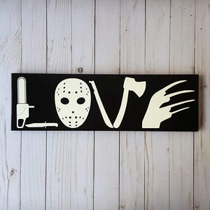 Horror Sign For Home
