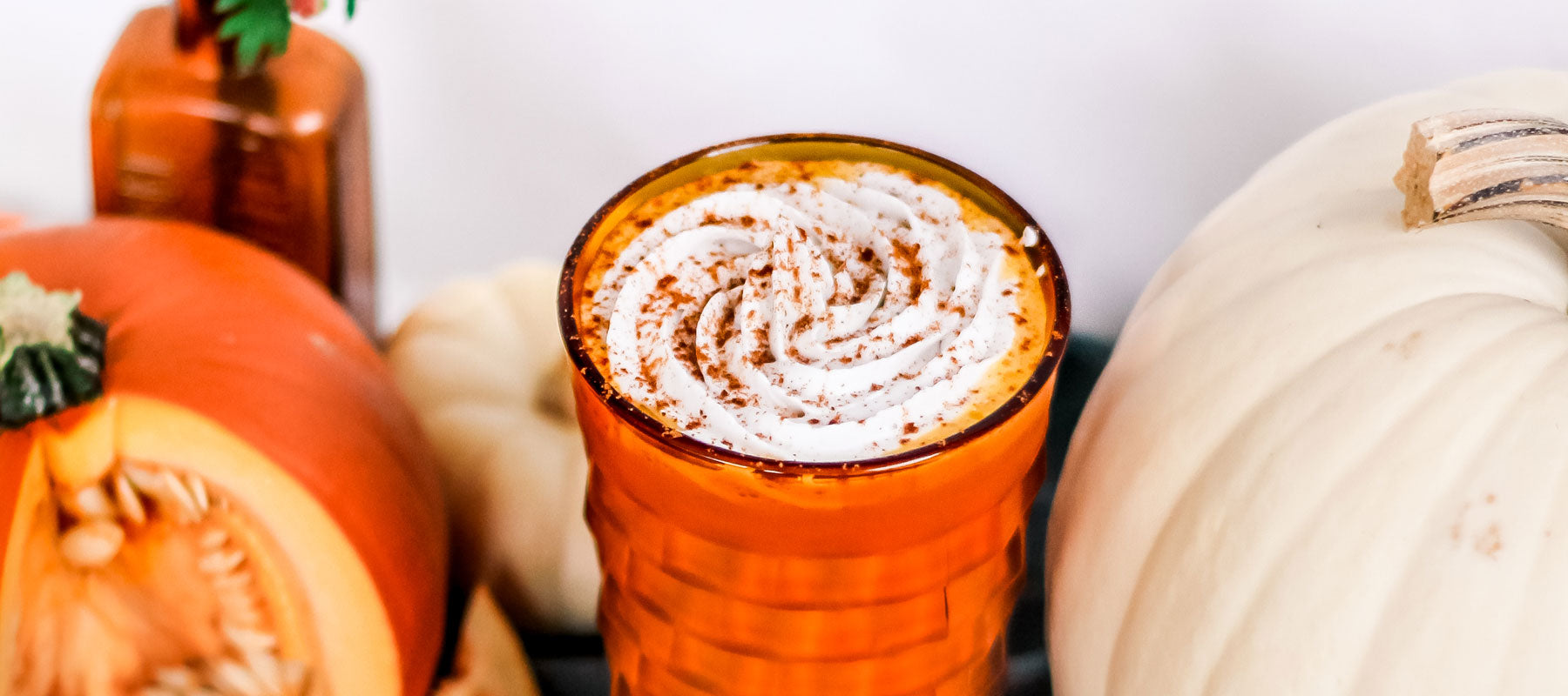 Pumpkin Spice Mighty Maca Shake