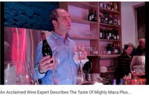 Acclaimed wine expert describes the taste of Might Maca Plus
