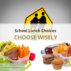 School Lunches choose wisely