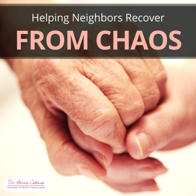 Helping neighbors recover from chaos
