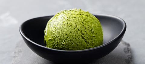 Green Goddess Mighty Maca Keto Ice Cream