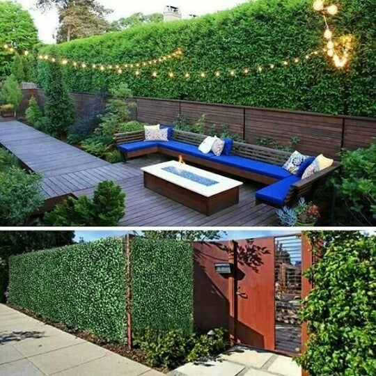 Expandable Faux Privacy Fence [FREE SHIPPING]