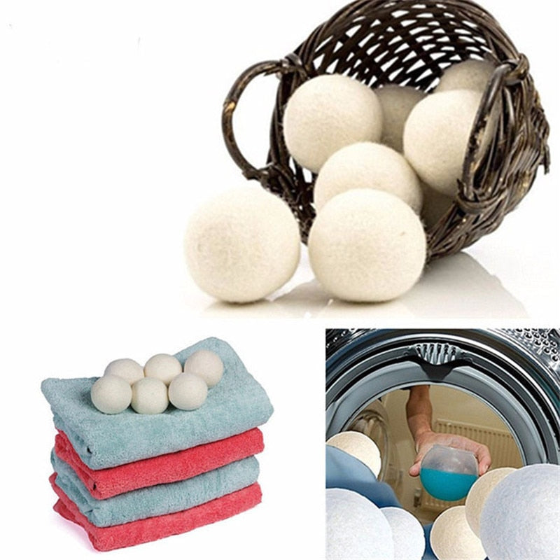 Dryer Woolies for Laundry - Dryer Balls 6pcs [FREE SHIPPING]