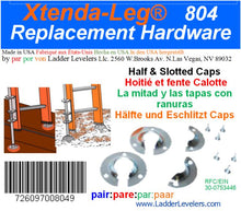 Load image into Gallery viewer, 6c)  #804 Xtenda-Leg®  Replacement Feet HARDWARE