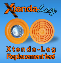 Load image into Gallery viewer, 6a)  #604 Xtenda-Leg® REPLACEMENT RUBBER FEET