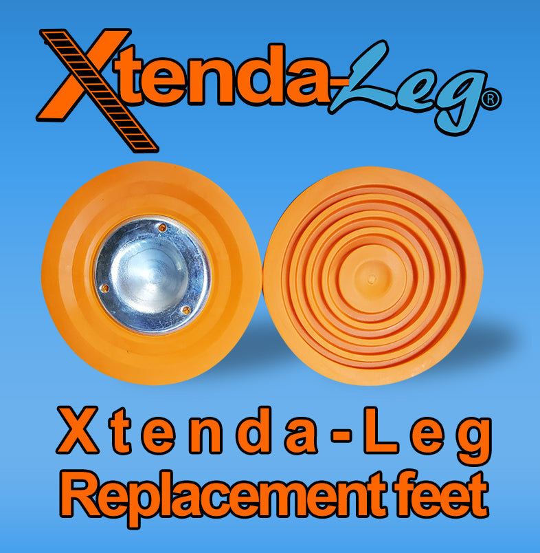 6a)  #604 Xtenda-Leg® REPLACEMENT RUBBER FEET