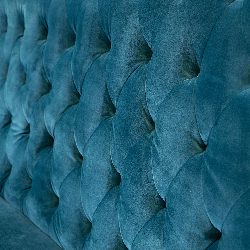 BANQUETTE MERIDIAN TURQUOISE