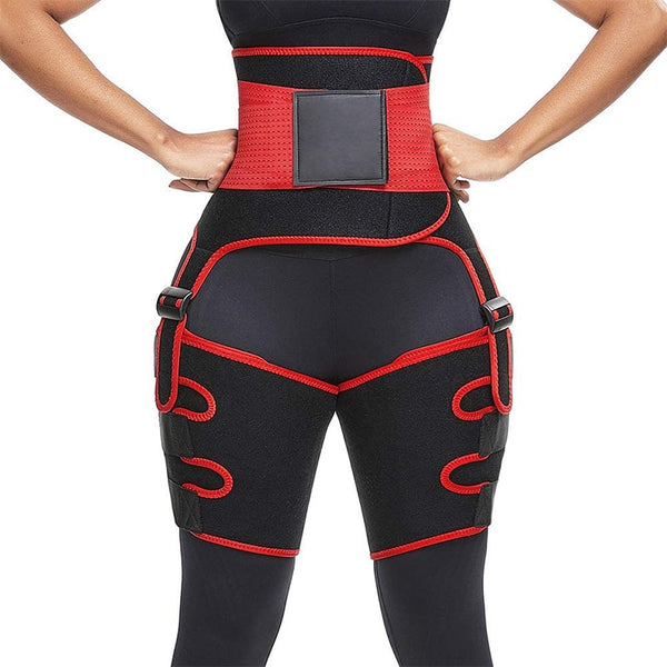 3 in 1 waist and thigh trimmer Double Compression