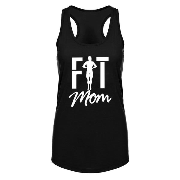 Womens Fit Mom Fitness Workout Racerback Tank Tops